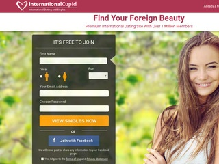 International Cupid Homepage Image
